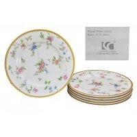 Набор из 6 тарелок 27 см в подарочной упаковке Lenardi Цветочная поляна