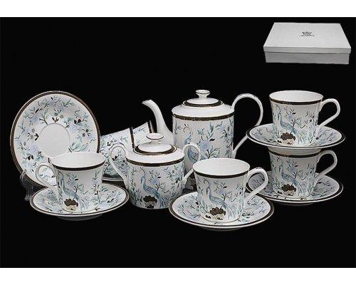 Чайный набор Lenardi на 6 персон 16 предметов в подарочной упаковке