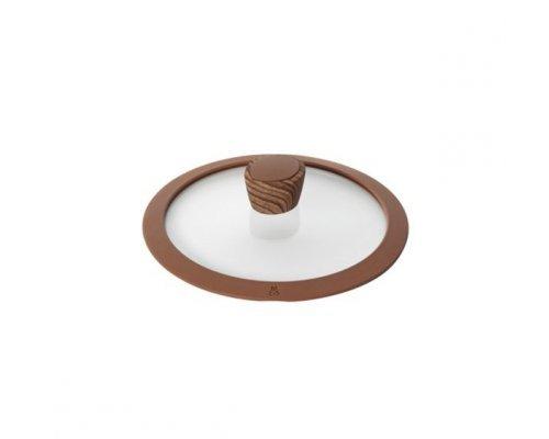 Стеклянная крышка с силиконовым ободом, 20 см NADOBA серия GRETA&10;