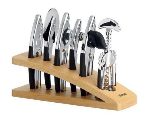 Набор кухонных инструментов NADOBA серия SIRENA хром 7 предметов