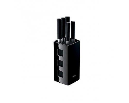 Набор из 5 кухонных ножей с универсальным керамическим блоком NADOBA серия KEIKO