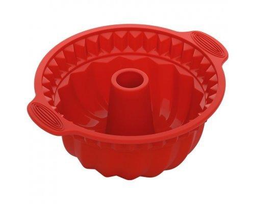Форма для круглого кекса глубокая, силиконовая, 28x24x10 см NADOBA серия MÍLA