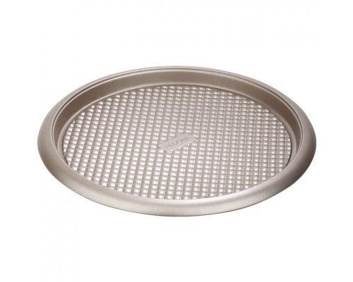 Форма круглая для пирога/пиццы, стальная, антипригарная, 34х2,5 см NADOBA серия RÁDA