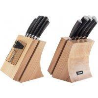 Набор из 5 кухонных ножей и блока для ножей с ножеточкой NADOBA серия DANA