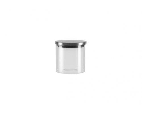 Ёмкость для сыпучих продуктов со стальной крышкой, 0,45 л NADOBA серия SILVANA