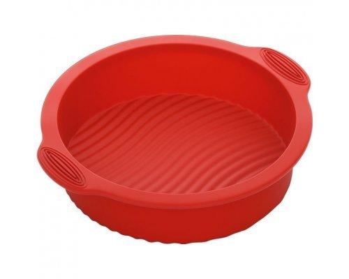 Форма для выпечки круглая, силиконовая, 28x25x6 см NADOBA серия MÍLA