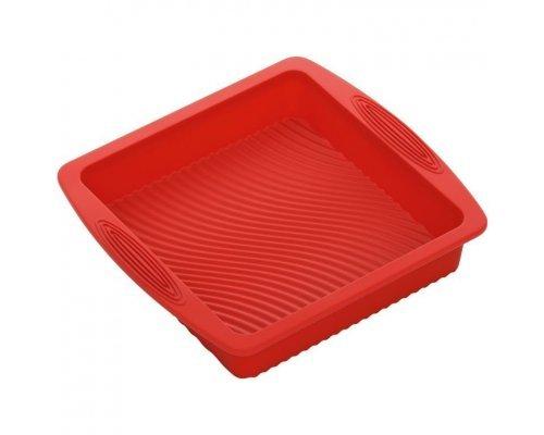 Форма для выпечки квадратная, силиконовая, 26x24x5 см NADOBA серия MÍLA