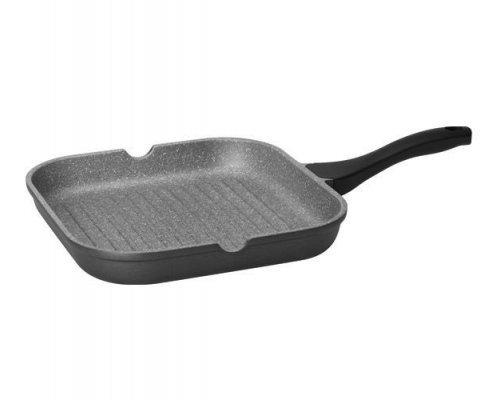 Сковорода-гриль с антипр-м покрытием, 28х28 см NADOBA серия GRANIA
