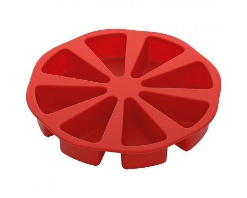 Форма для порционного торта, силиконовая, 26x26x4,5 см NADOBA серия MÍLA