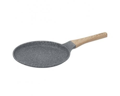 Сковорода блинная с антипригарным покрытием, 24 см, NADOBA серия MINERALICA
