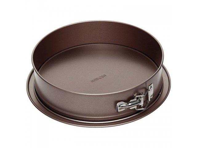 Форма для выпечки разъемная, стальная, антипригарная, 25х6 см, NADOBA, серия LIBA