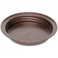 Форма для выпечки круглая, стальная, антипригарная, 26,5х4,3 см, NADOBA, серия LIBA
