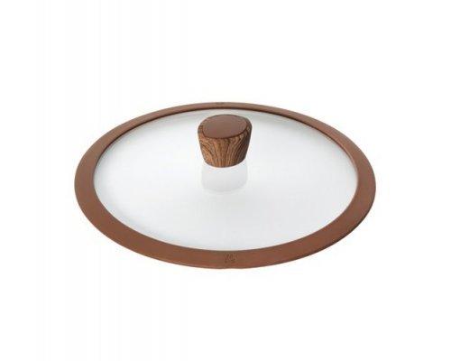 Стеклянная крышка с силиконовым ободом, 26 см NADOBA серия GRETA&10;