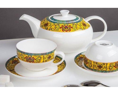 Чайный сервиз Восторг Royal Aurel на 6 персон 13 предметов