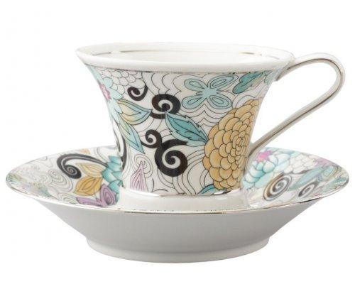 Чашка высокая с блюдцем Rudolf Kampf Византия 1515 0,2 л