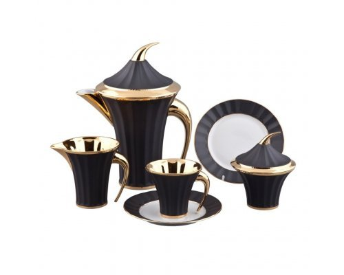 Сервиз чайный Rudolf Kampf Древний Египет 2112 на 6 персон 15 предметов