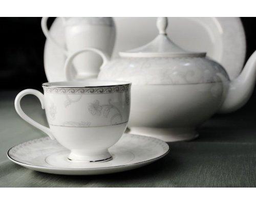 Сервиз чайный Жизель Royal Bone China на 6 персон 17 предметов