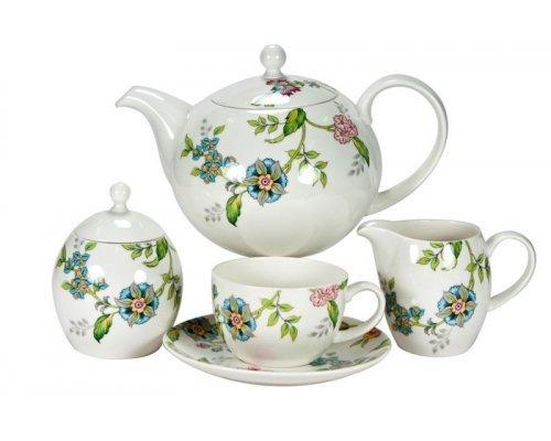 Сервиз чайный Прованс Royal Fine China на 6 персон 17 предметов