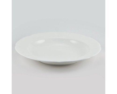 Набор из 6 тарелок суповых 23см White Royal Fine China