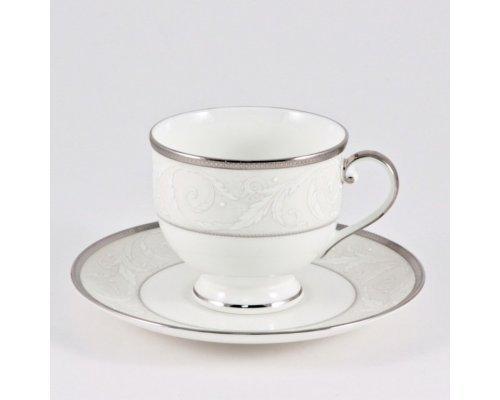 Чашка с блюдцем 0.24л Narumi Ноктюрн