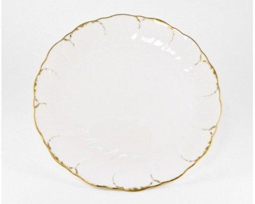 Набор 6 тарелок десертных 23см Narumi Белый с золотом
