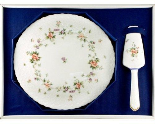 Набор для торта Narumi Воспоминание блюдо 29.5см и лопатка