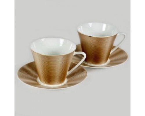 Набор из 2 чайных пар Nikko Шелк