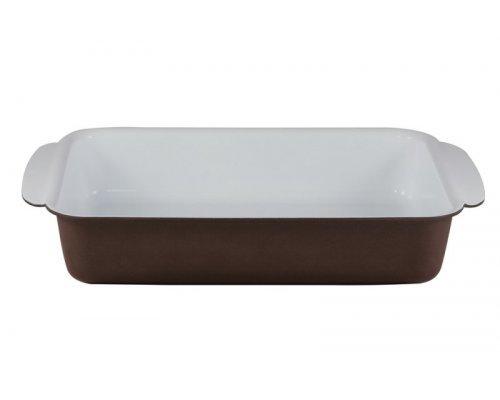 Форма для запекания Коричневая керамика Bialetti 30 х 22 см