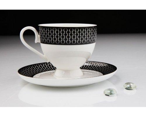 """Чайный сервиз Royal Aurel """"Верона"""" на 6 персон 15 предметов арт. 123"""