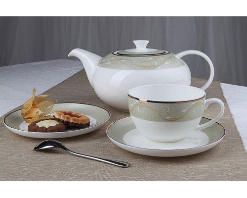 """Чайный сервиз Royal Aurel """"Престиж"""" на 6 персон 13 предметов арт. 137"""