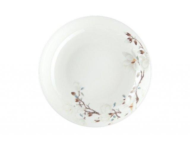 Royal Aurel Магнолия тарелка глубокая 20 см 1 шт.