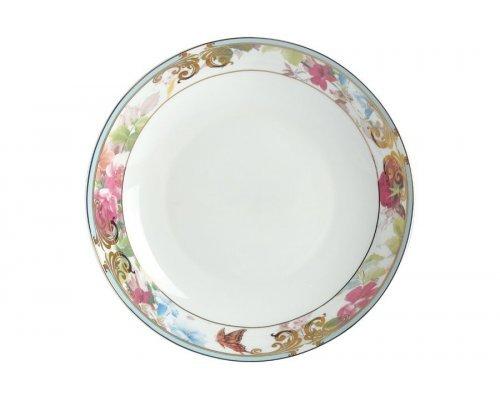 """Набор тарелок Royal Aurel суповых """"Цветущий сад"""" 8""""/20 6 шт арт. 725"""