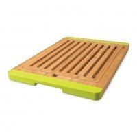 Доска разделочная бамбуковая с силиконовыми накладками 38*27*2см (для хлеба разборная) Studio
