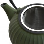 Заварочный чайник чугунный 1,3л (зеленый) Studio