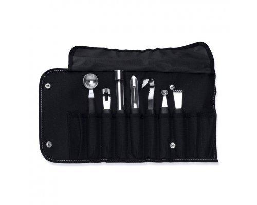 Набор 8пр ножей для фигурной вырезки в складной сумке Studio