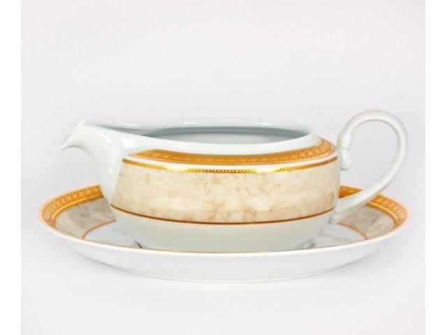 Соусник 04л на подставке 213см Kensington Ivory Royal Porcelain