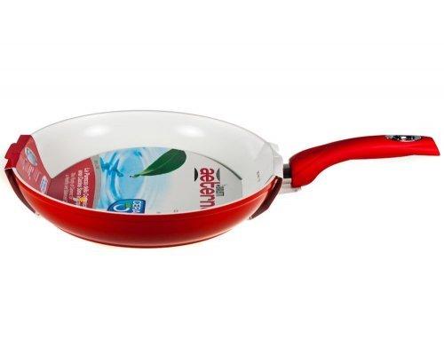 Сковорода 30 см Красная керамика Bialetti V 3.25л
