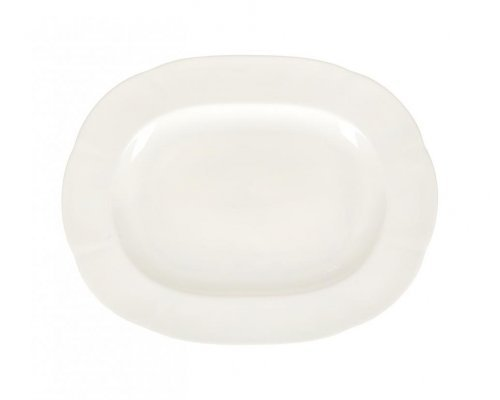 Блюдо овальное 38см White Royal Fine China