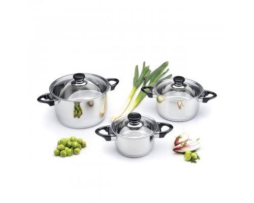 Набор посуды для приготовления Vision Prima BergHOFF 6 предметов