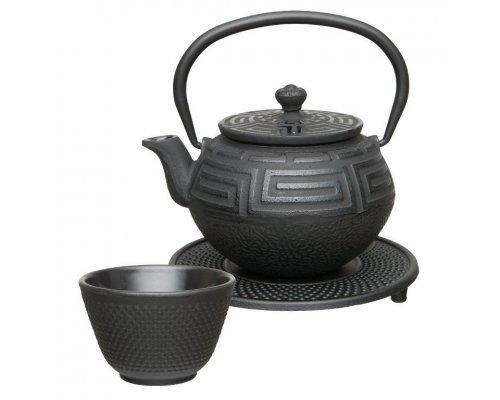 Чайный набор чугунный (чёрный) 0,35л BergHOFF Studio
