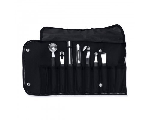 Набор ножей для фигурной вырезки в складной сумке Essentials BergHOFF 8 предметов