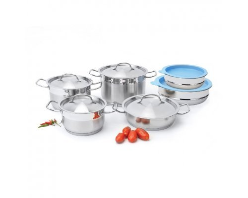 Набор посуды из нержавеющей стали 12 предметов Hotel BergHOFF