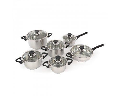 Набор посуды для приготовления Vision Premium BergHOFF 12 предметов