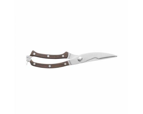 Ножницы для разделки птицы Essentials BergHOFF с рукоятью из темного дерева