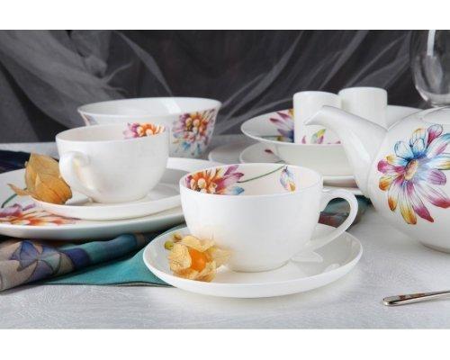 """Чайный сервиз Royal Aurel """"Каприз"""" на 6 персон 13 предметов арт. 132"""