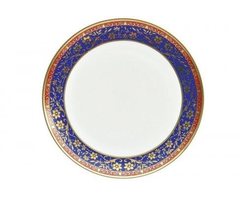 "Набор тарелок Royal Aurel ""Кобальт"" 10""/25 6 шт арт. 620"