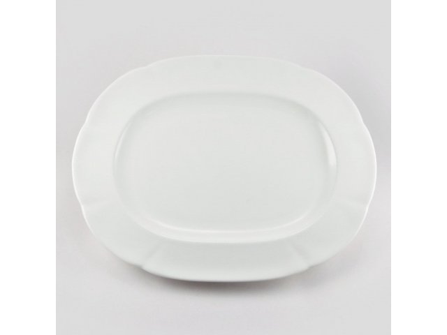 Блюдо овальное 32см White Royal Fine China