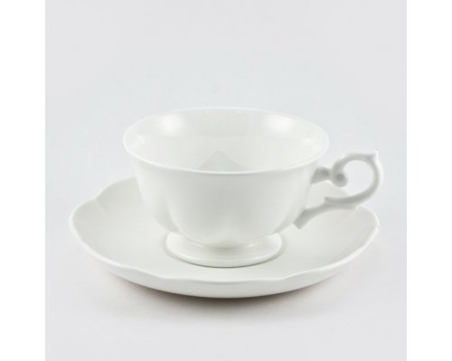 Чайная пара 180 мл White Royal Fine China