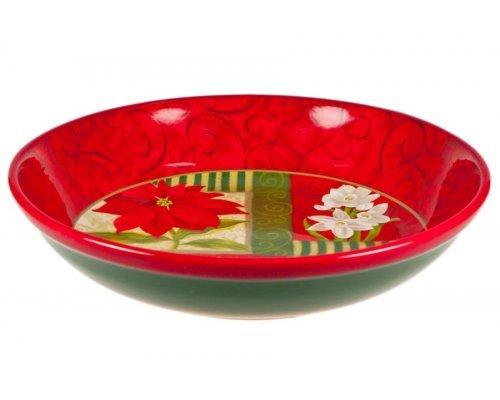 Набор тарелок суповых 23см Пуанцеттия Certified International