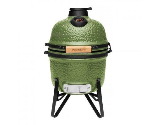 Компактный керамический уличный гриль 41*36*57см (зеленый) BergHOFF